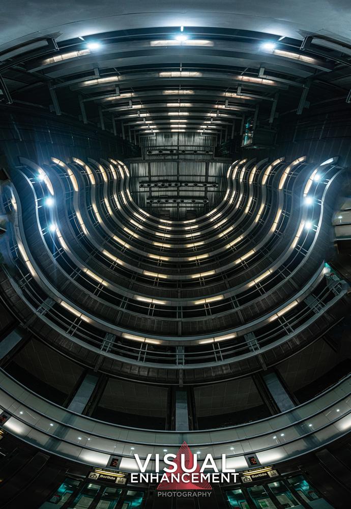 Futuristic Metro Station by Rodrigo Valdez