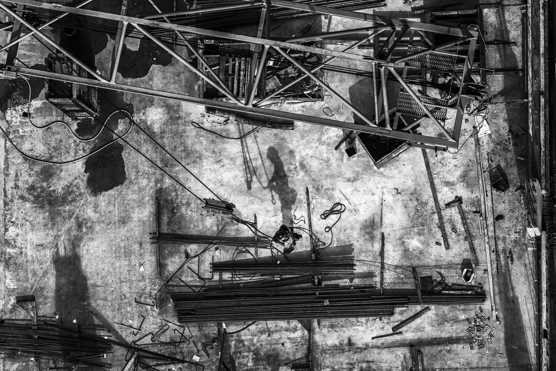 Crane Worker by Aram Hovsepian
