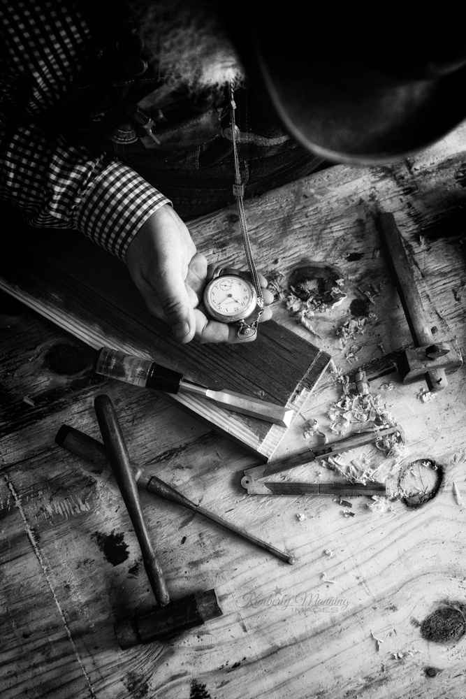 Watching The Clock by Kimberly Manning