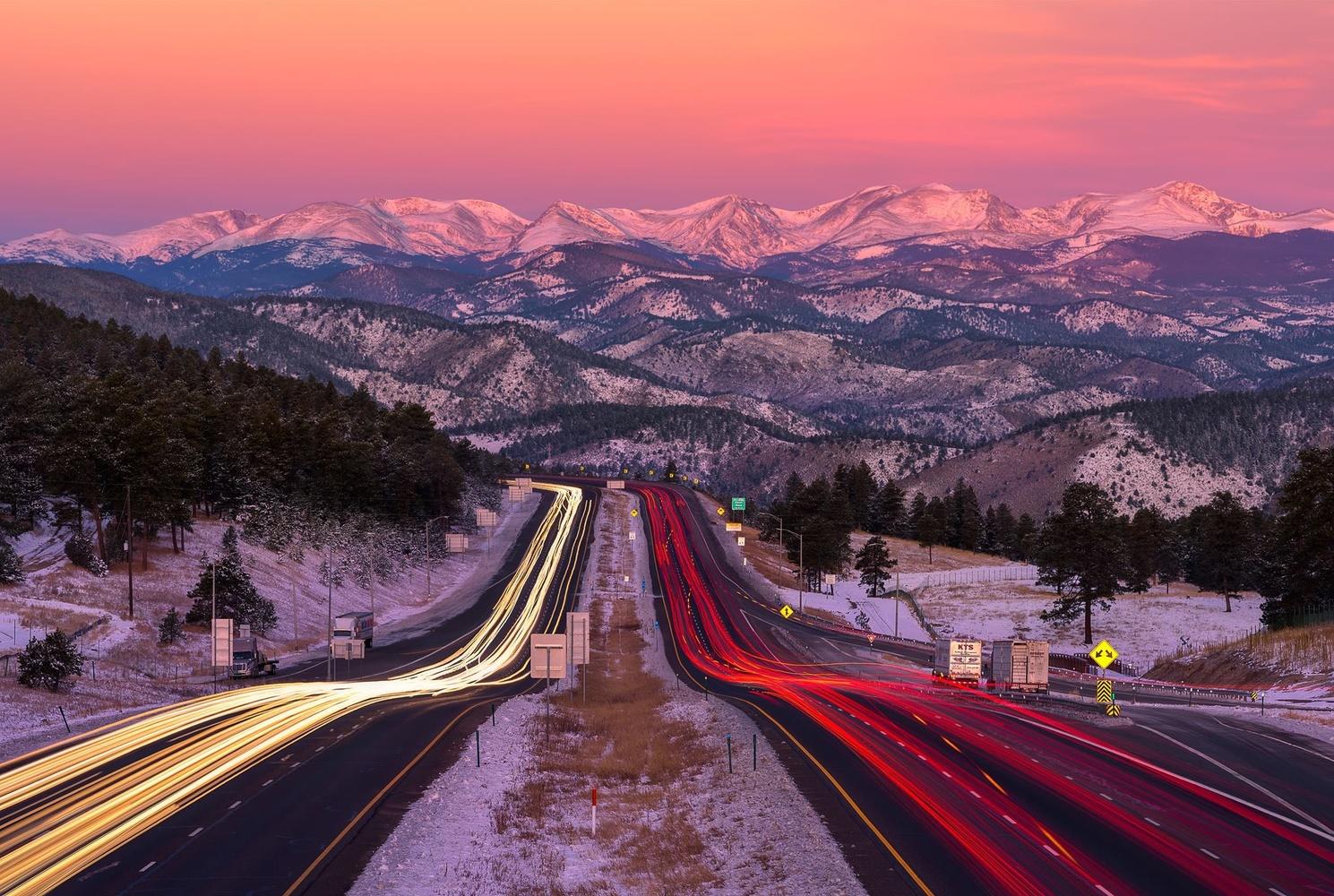 Zoomin' to Rockies by John Daniel