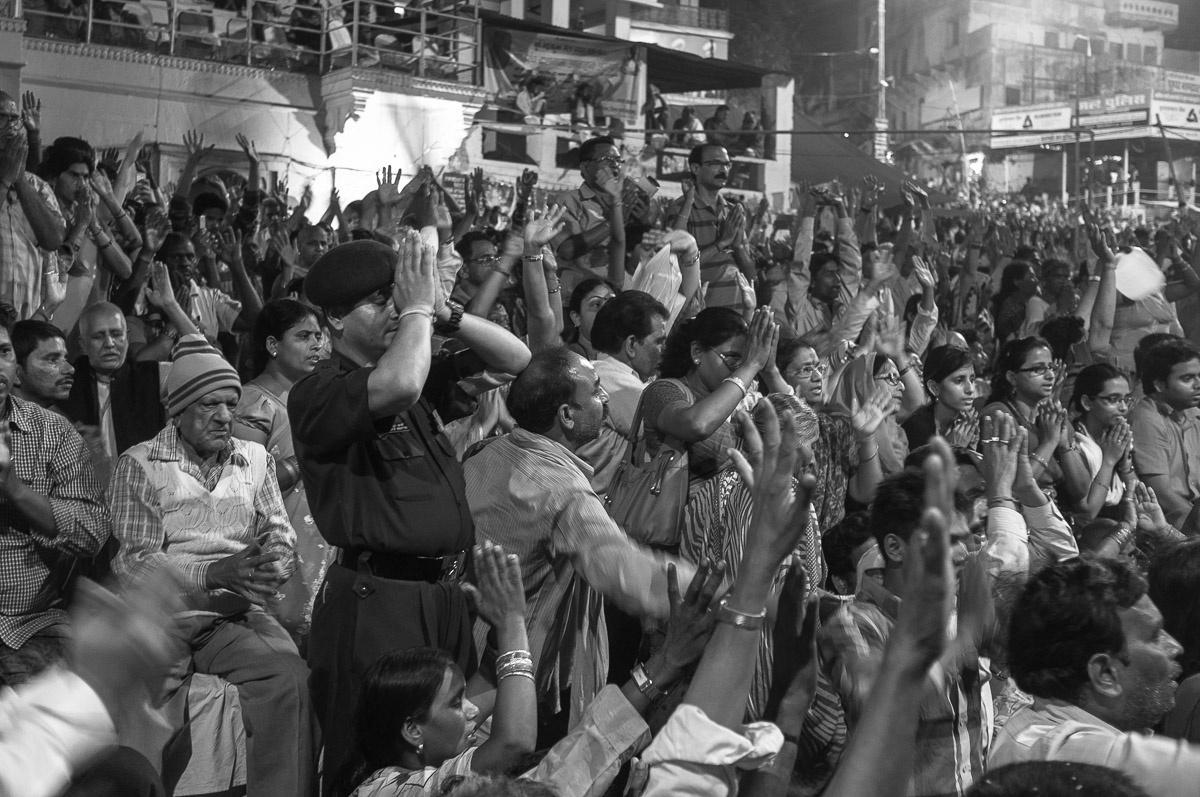 Devout in Varanasi by Suvir Mirchandani