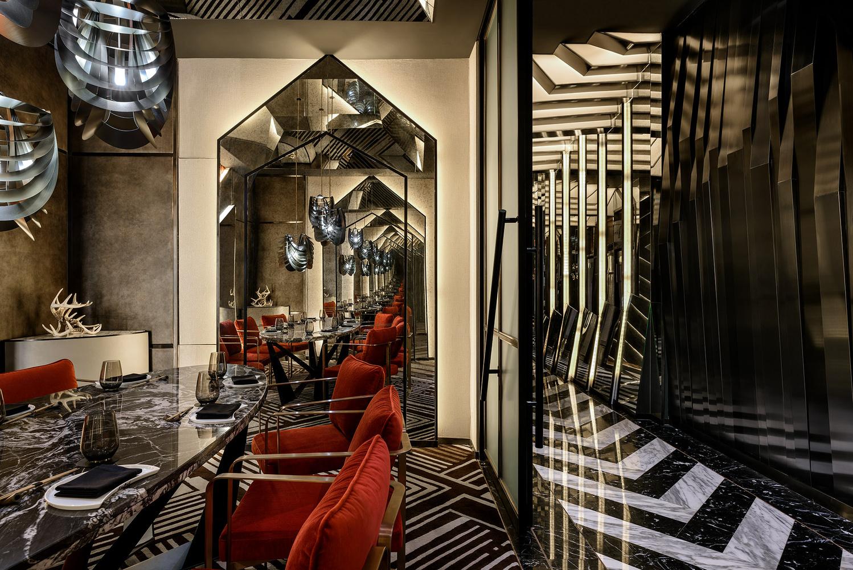 Akira Back Restaurant designed by greymatters Interior Shot by Adisorn Ruangsiridecha