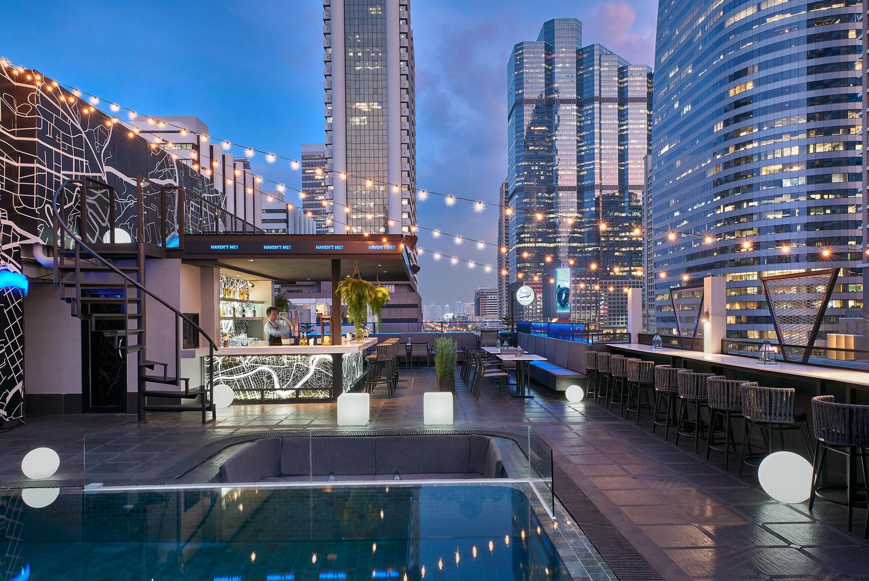 Haven't Met Hotel Rooftop Bar by Adisorn Ruangsiridecha