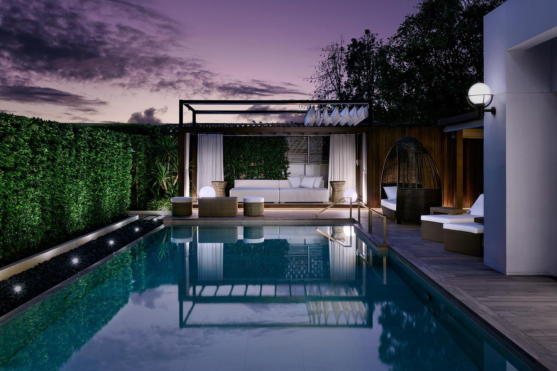 Pool side lounge designed by MPD Studio by Adisorn Ruangsiridecha