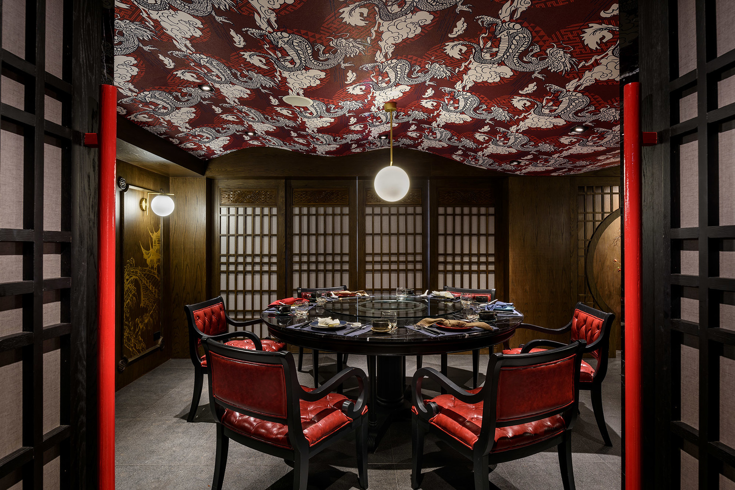 Private Dining Room at Chef Pom Chinese Cuisine by TODD by Adisorn Ruangsiridecha