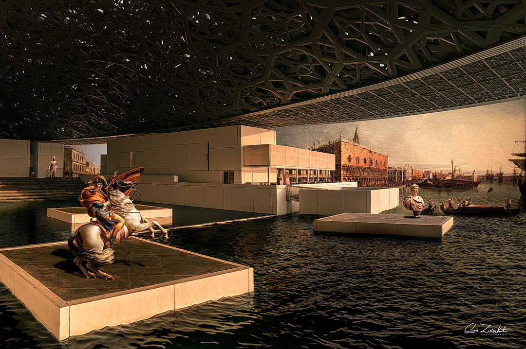 World of Louvre by Qais Zureikat