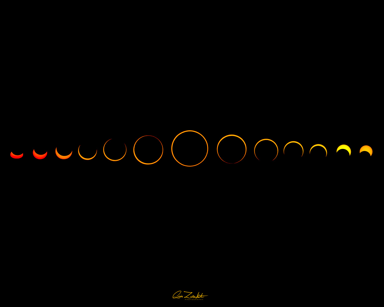Solar Eclipse by Qais Zureikat