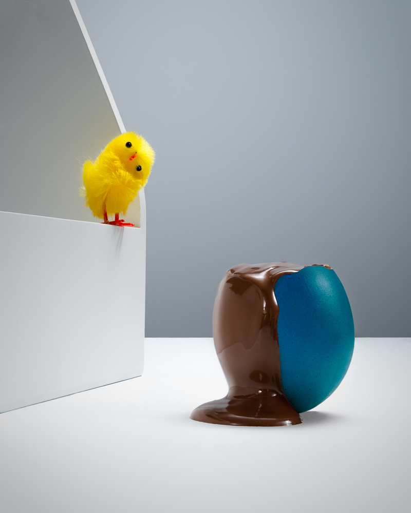 'Easter, egg-streme social distancing' by Mark Rowe