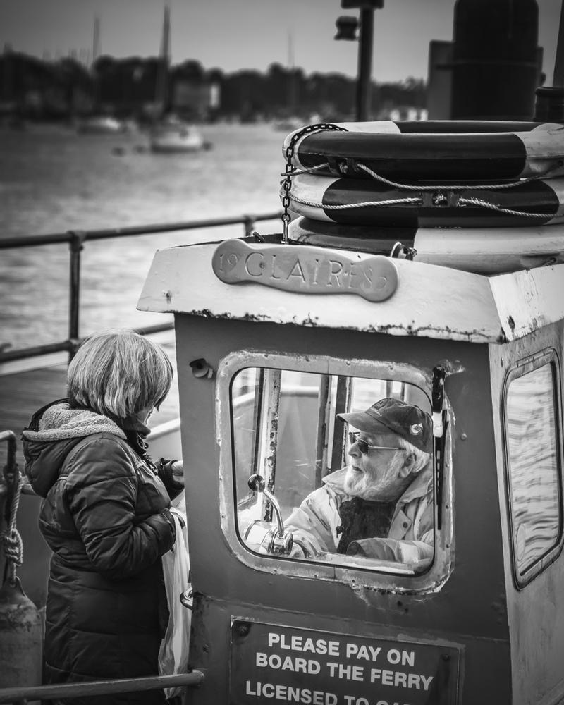 Ferry Man since 1958 by Mark Rowe