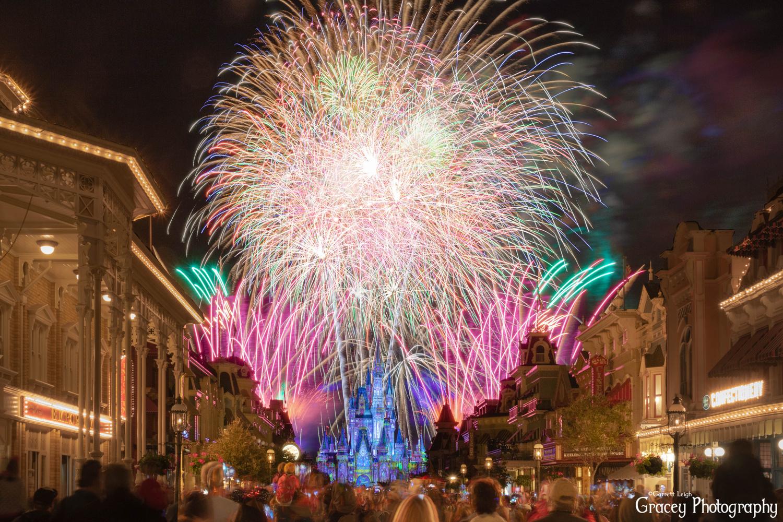 Disney fireworks by Garrett Leigh