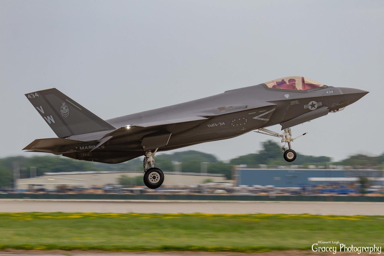 cleared for landing by Garrett Leigh