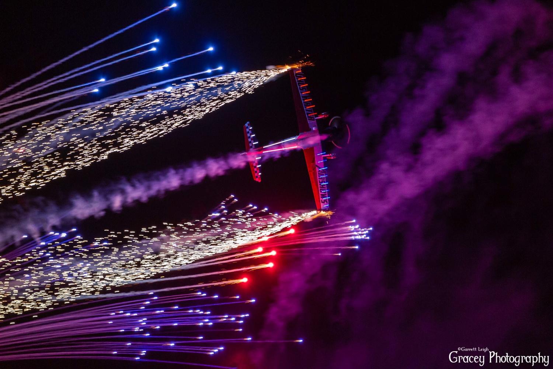 Night time flying by Garrett Leigh