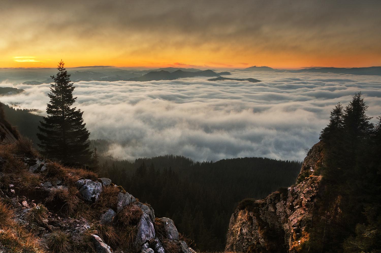 Over the clouds... by Gabi Sandu
