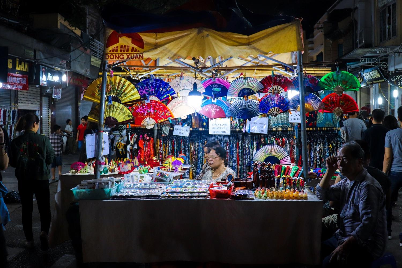 Hanoi Night Market by Alice HB