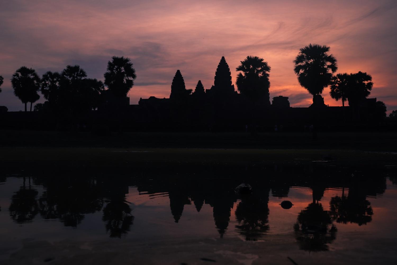 Sunrise at Angkor Wat by Alice HB