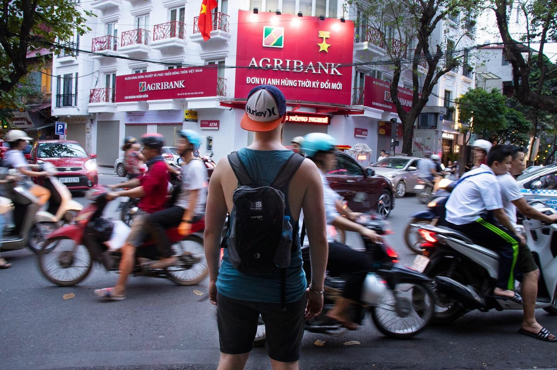 Traffic in Vietnam by Alice HB