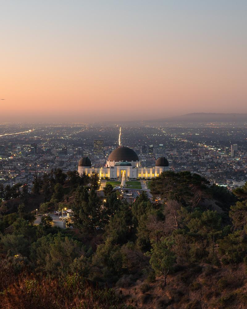 Griffith Observatory Sunrise by Jarrett Steil
