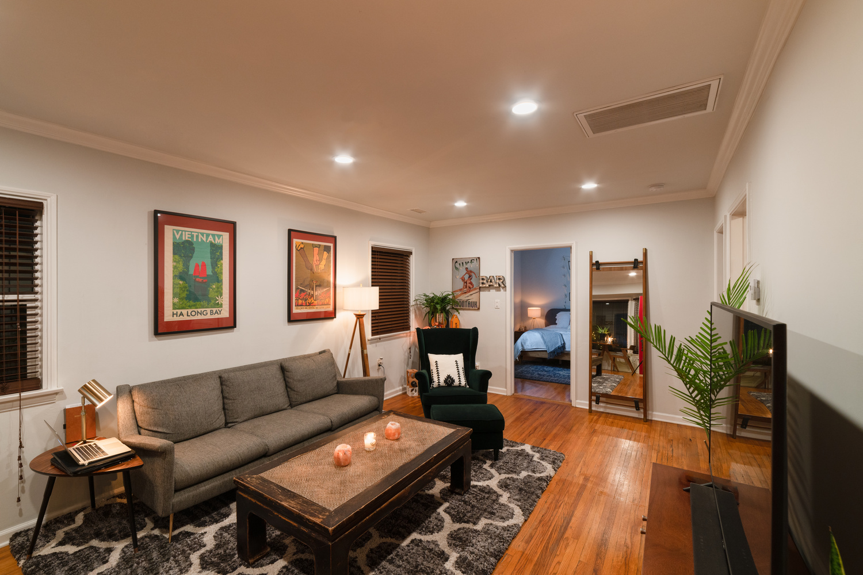 LA Cottage Interior by Jarrett Steil