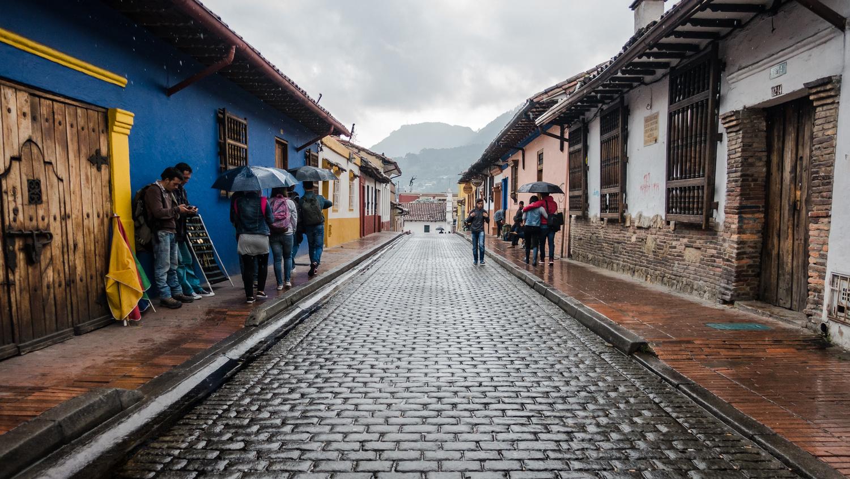 Candelaria, Bogota Colombia by Jarrett Steil