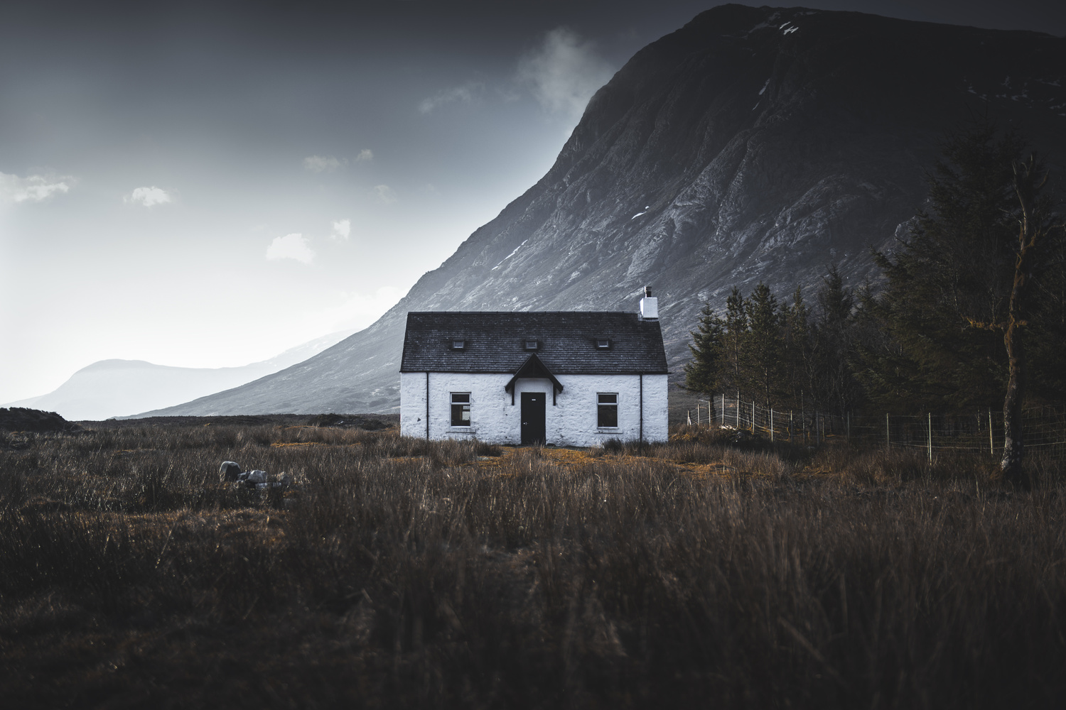 The most photographed house in Scotland. by Liam Morley
