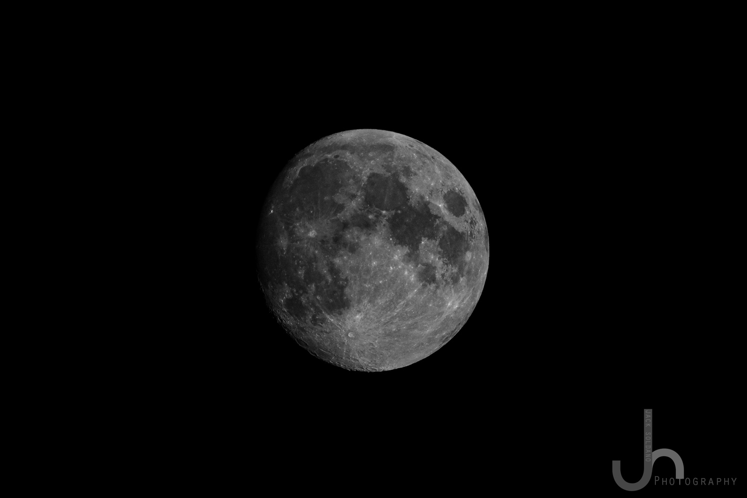 Waxing Gibbous - Sigma 150-600mm by Jack Soldano