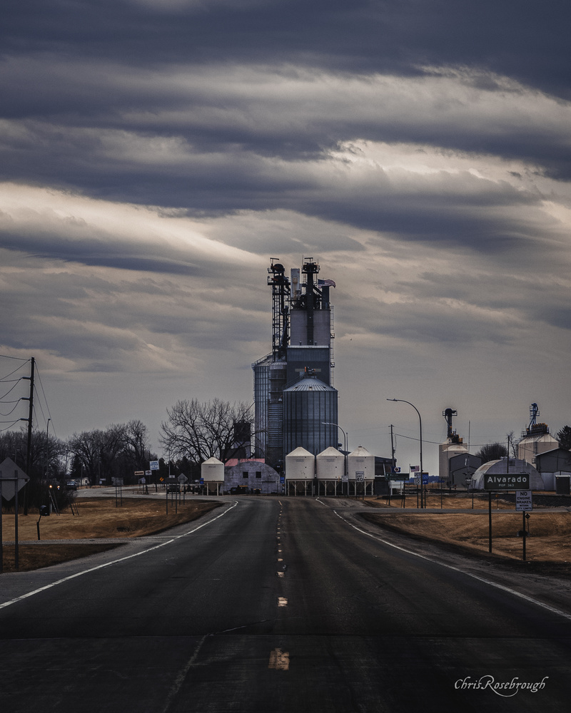 Alvarado, Minnesota Circa March 2021 by Chris Rosebrough