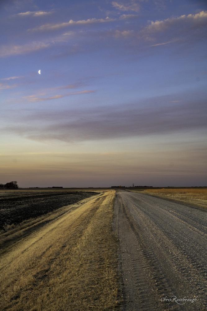 Good Morning Moon by Chris Rosebrough