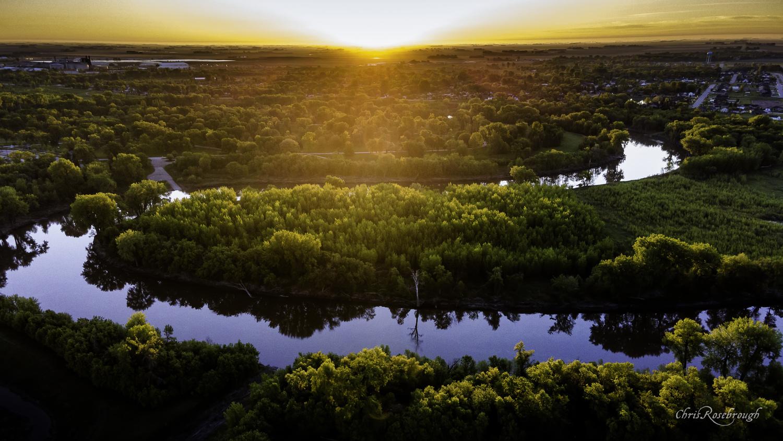 Good Morning Grand Forks North Dakota by Chris Rosebrough