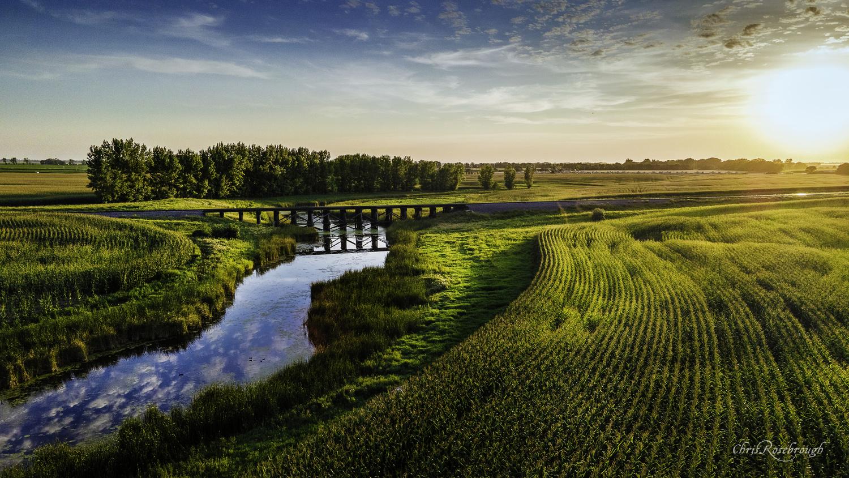 Ardoch Train Bridge by Chris Rosebrough