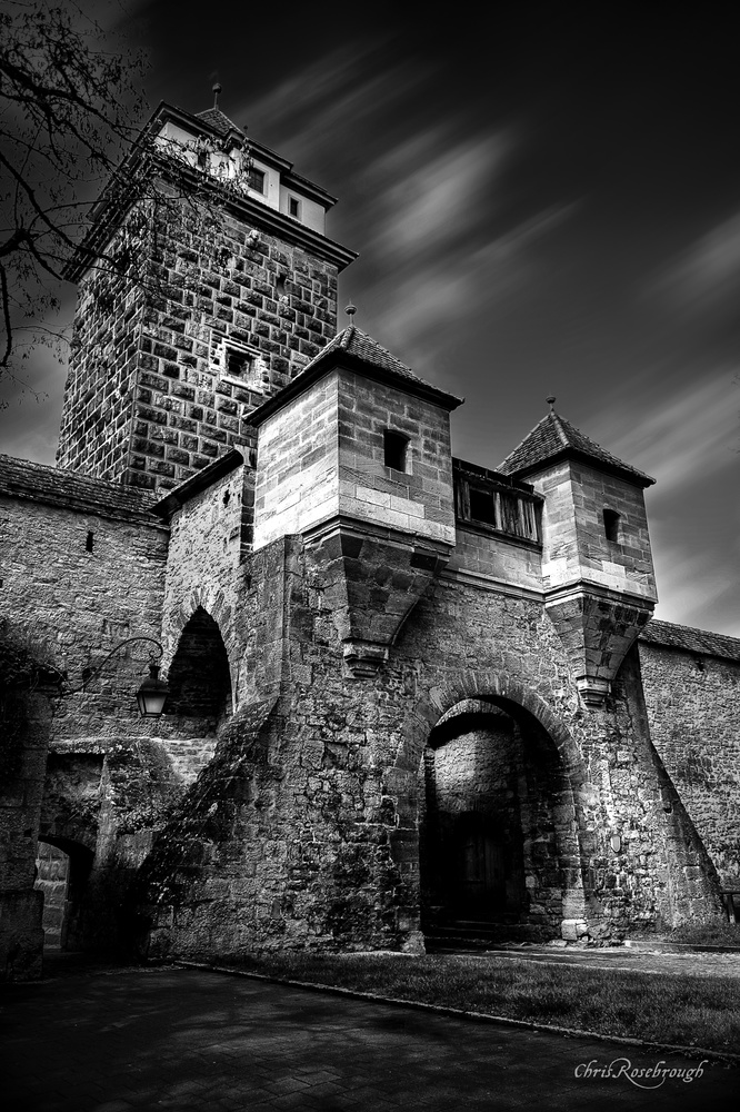 The gate of Rothenburg by Chris Rosebrough
