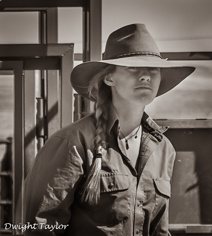 Real Cowgirl by Dwight Taylor