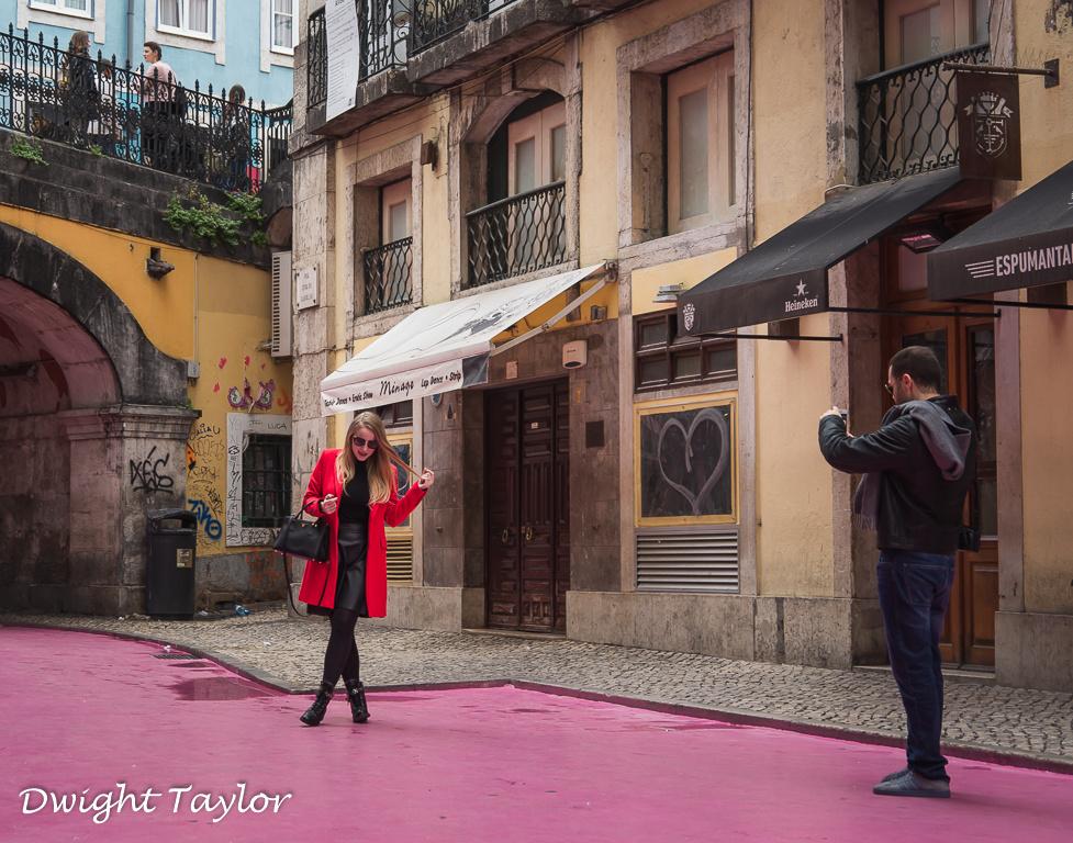 Working it in Lisbon by Dwight Taylor
