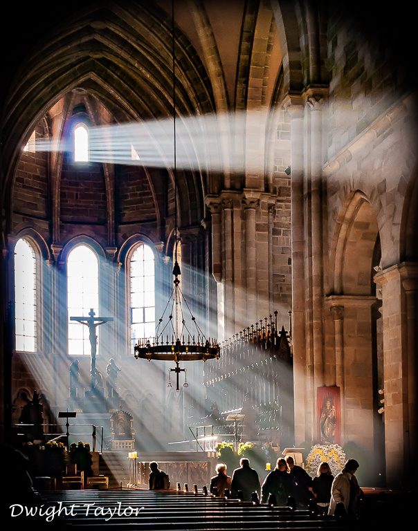 Bamburg Cathedral by Dwight Taylor