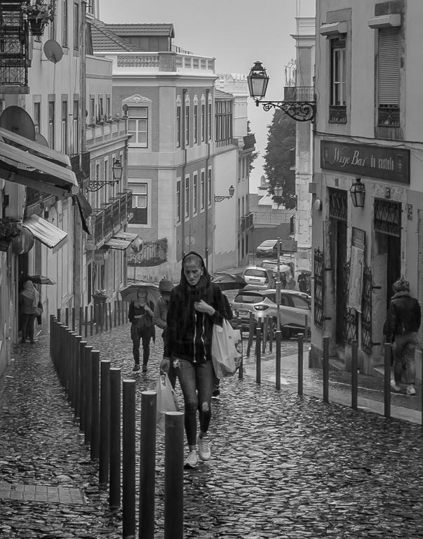 Rainy Lisbon by Dwight Taylor