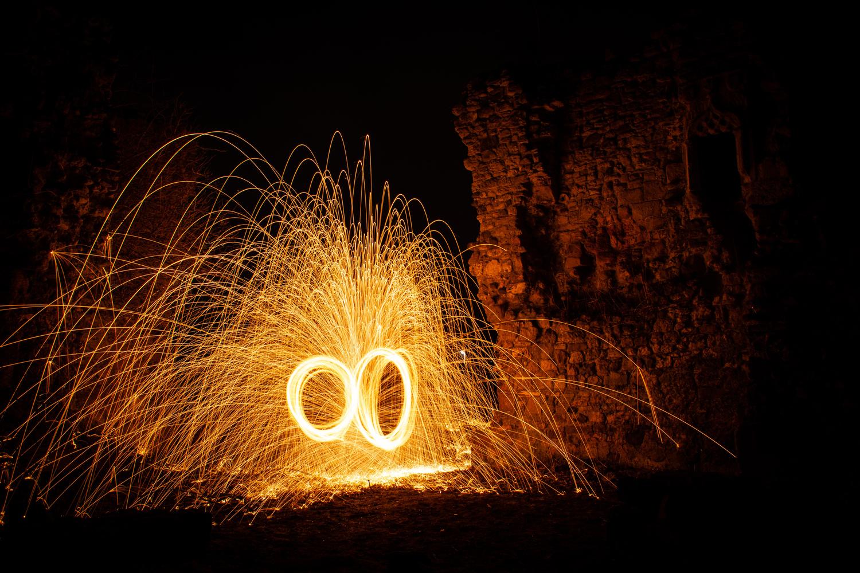 Wire Wool portal by Johnnie Walker