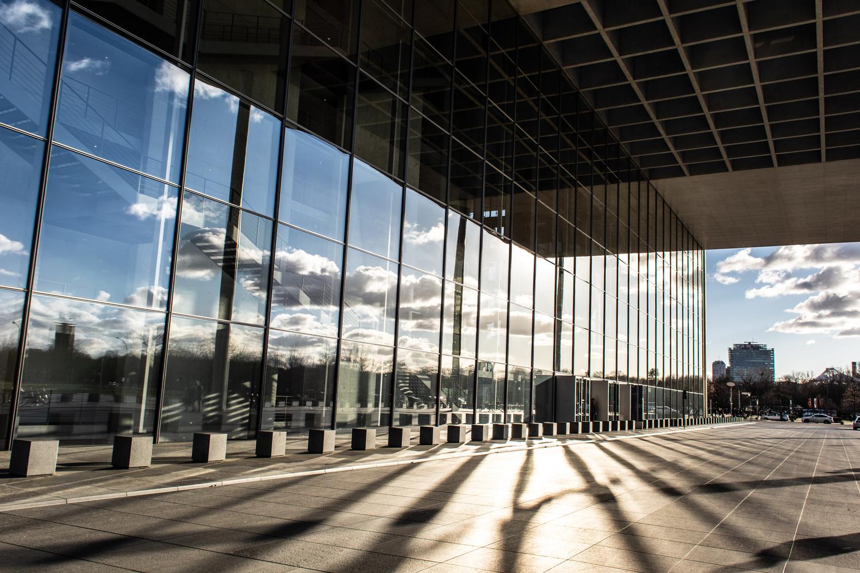 Berlin reflection by Johnnie Walker