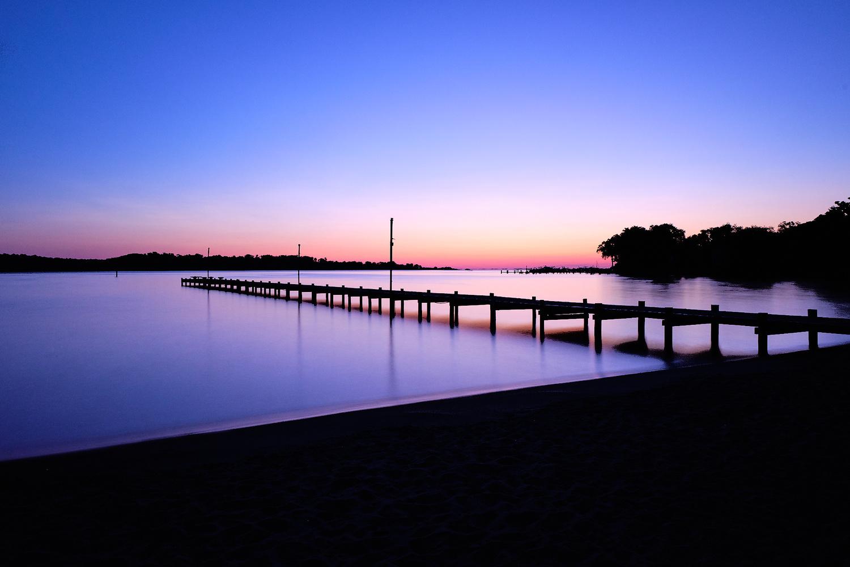 Bay Sunrise by Christopher Elkins
