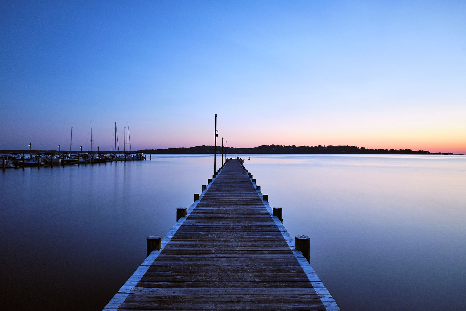 Dock of the Bay by Christopher Elkins