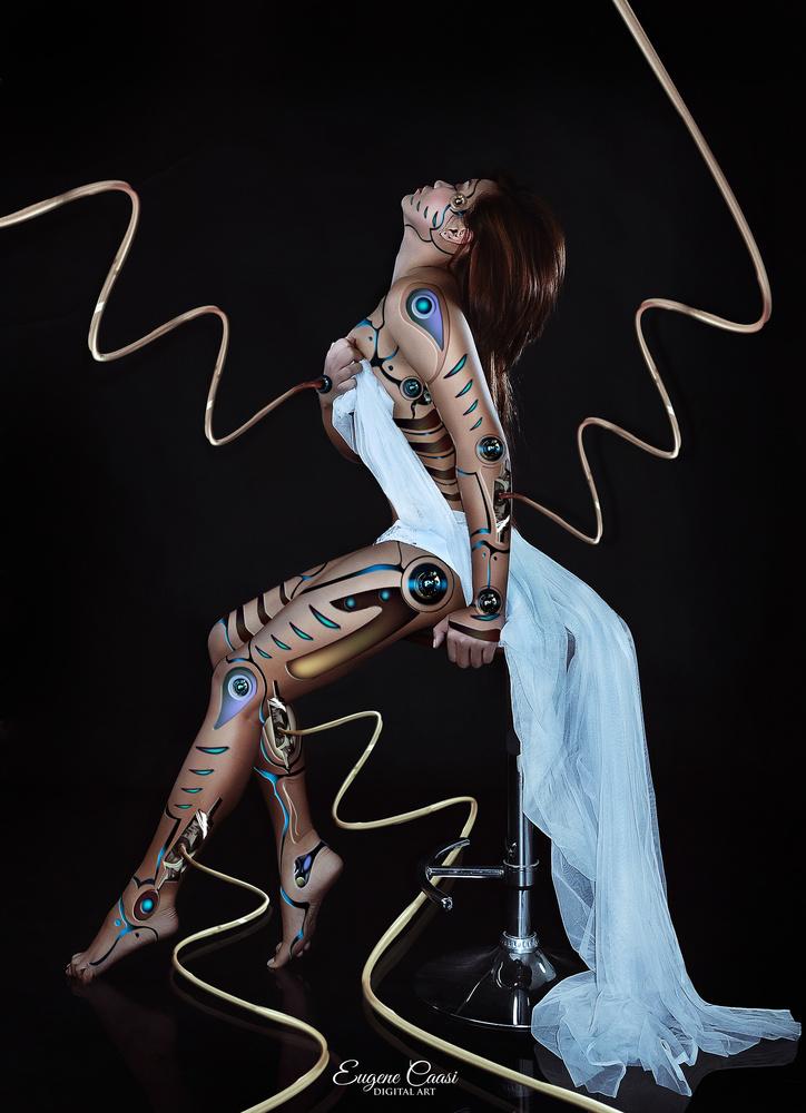 LADY CYBORG by EUGENE CAASI