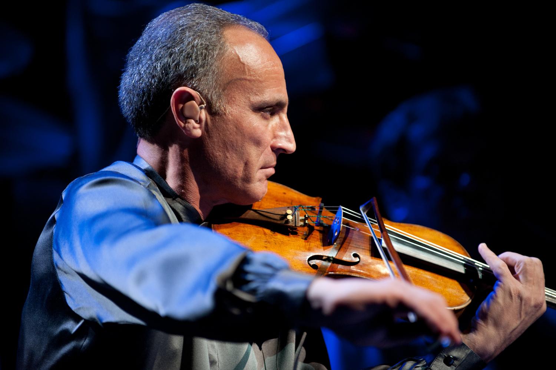 Man and his violin by Silvio Richetto