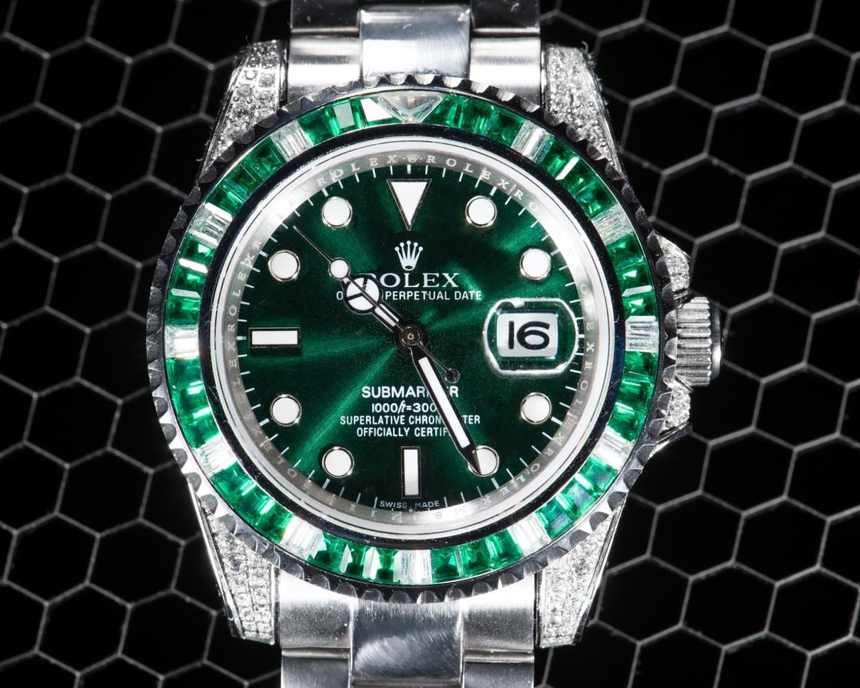 Green Rolex by Silvio Richetto