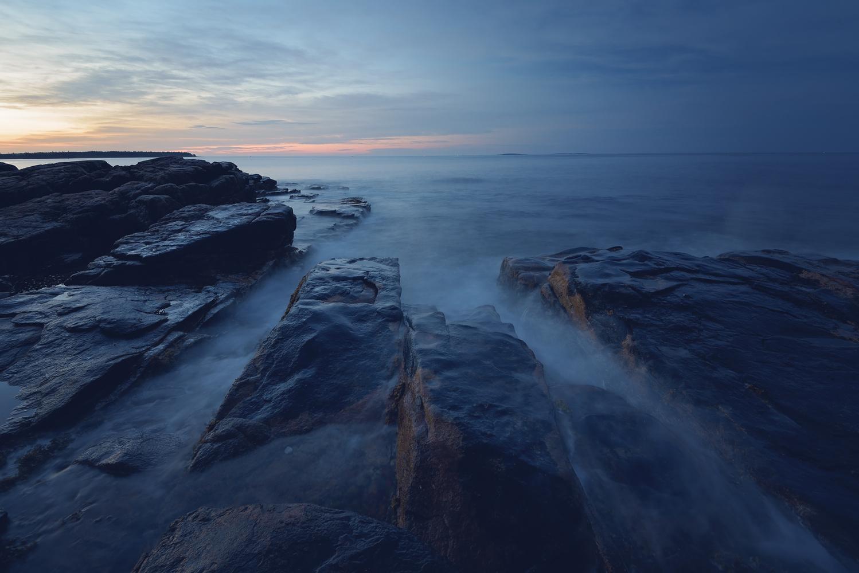 Sunrise In Maine by Margie Mackrell