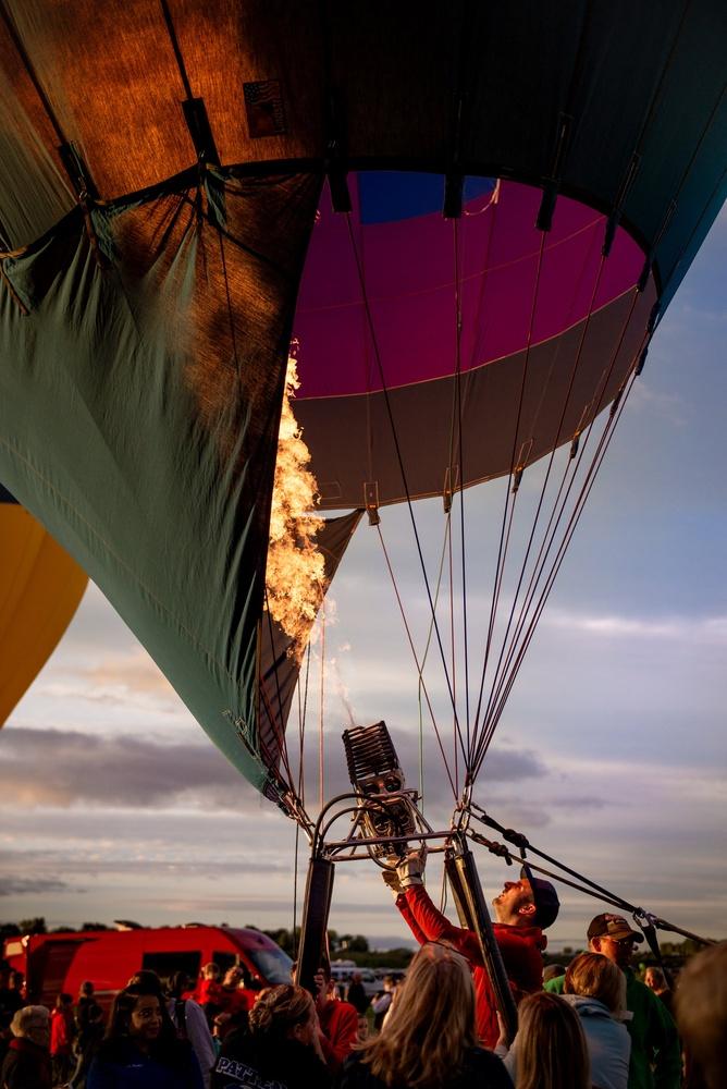 Raising Balloons by Jeremy Chapline