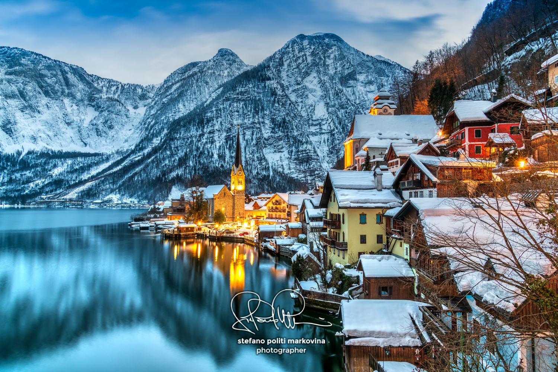 Hallstatt, Upper Austria, Austria by Stefano Politi Markovina