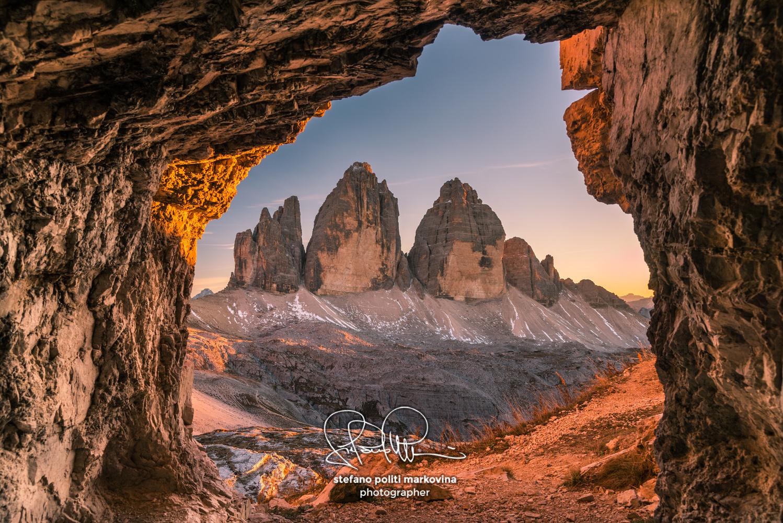 Tre Cime di Lavaredo peaks or Drei Zinnen, Dobbiaco - Toblach, Trentino - Alto Adige or South Tyrol, Italy by Stefano Politi Markovina