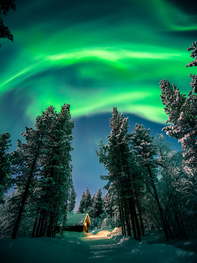 Northern Lights - Lapland, Finland by Giuseppe Milo