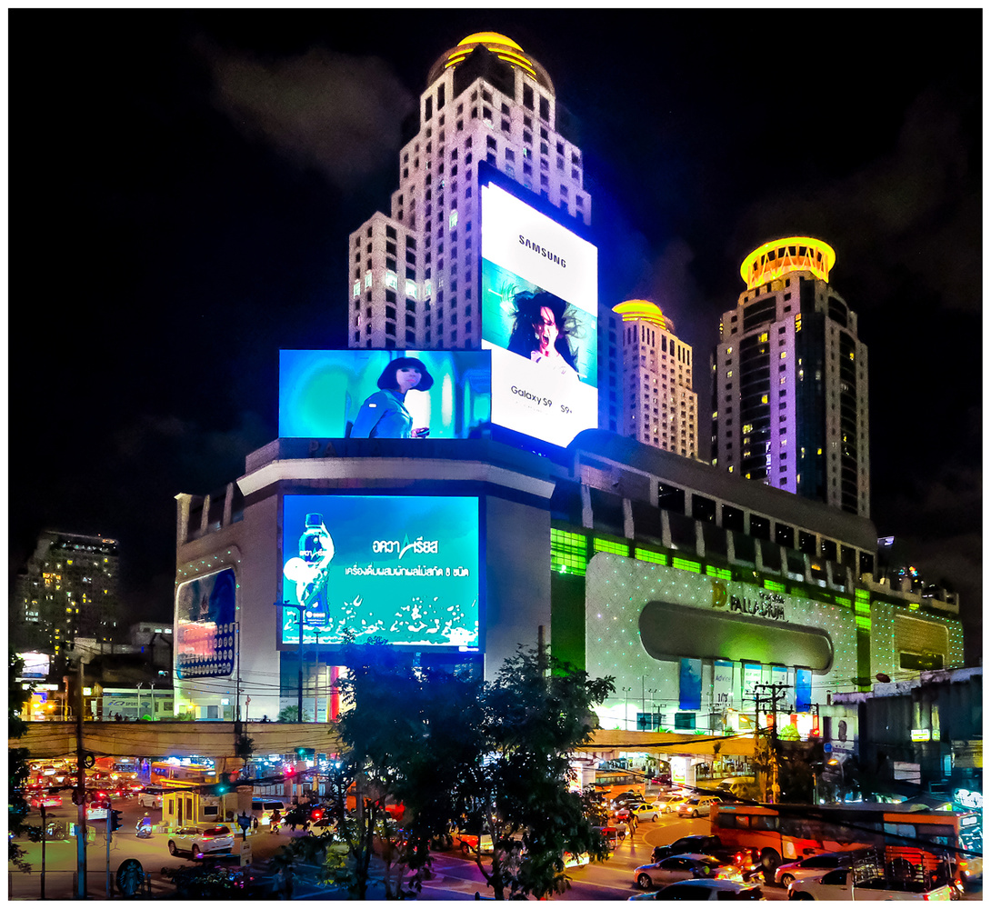Bangkok Pratunam by bob mocarsky