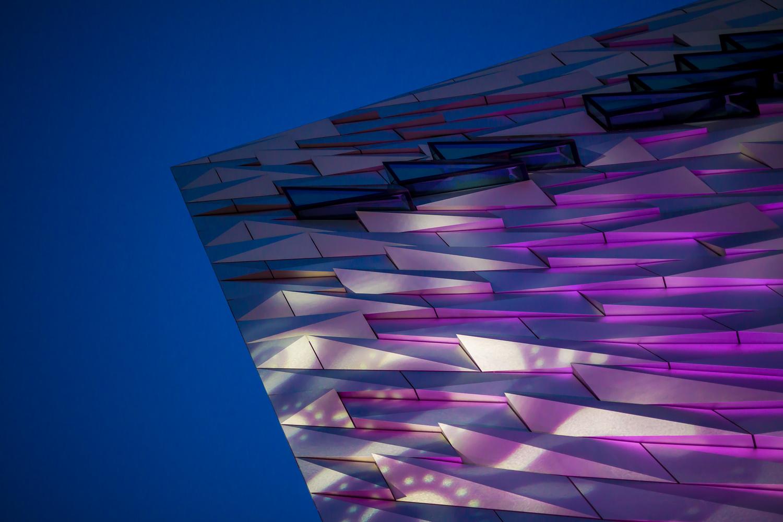 Titanic building Belfast by DAVID GERVIN