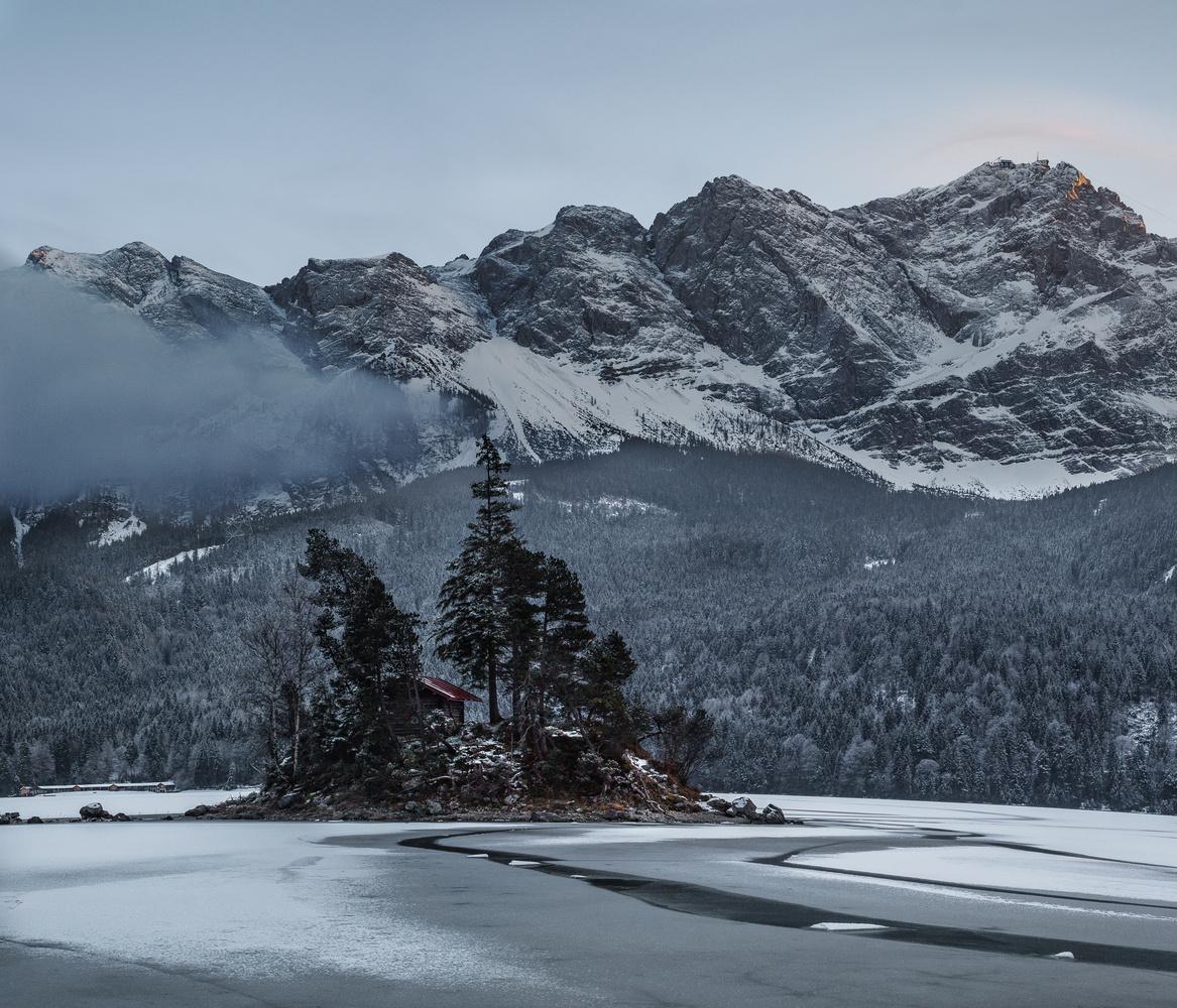 Zugspitze by Hristo Sokolov