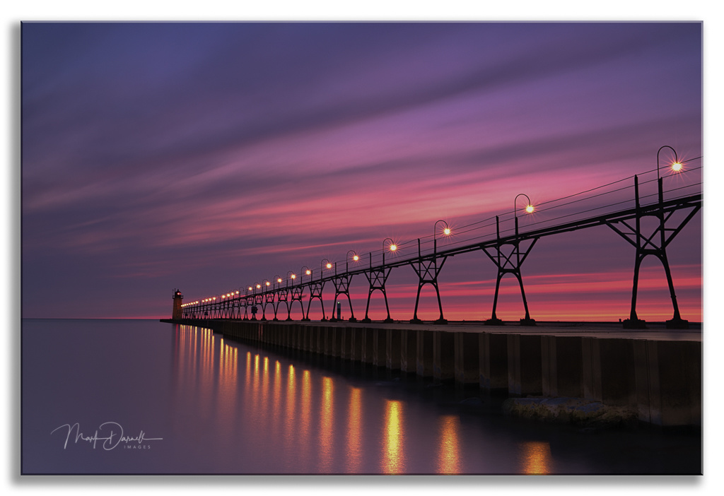 South Haven Lightshow by Mark Darnell